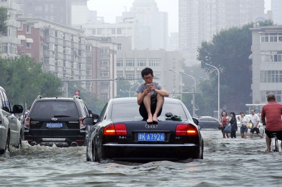 Inondations en Chine