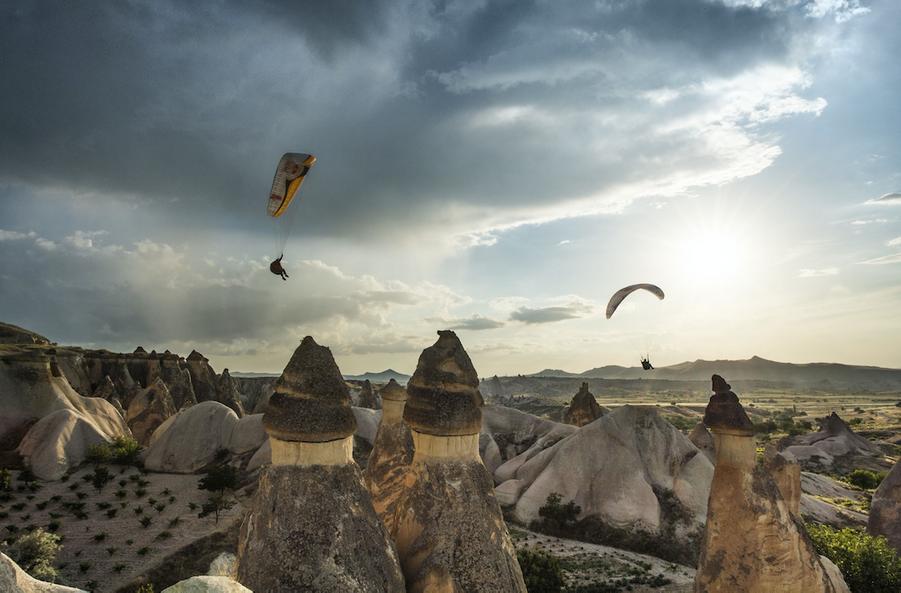 Cappadoce se trouve au centre de l'Anatolie, en Turquie