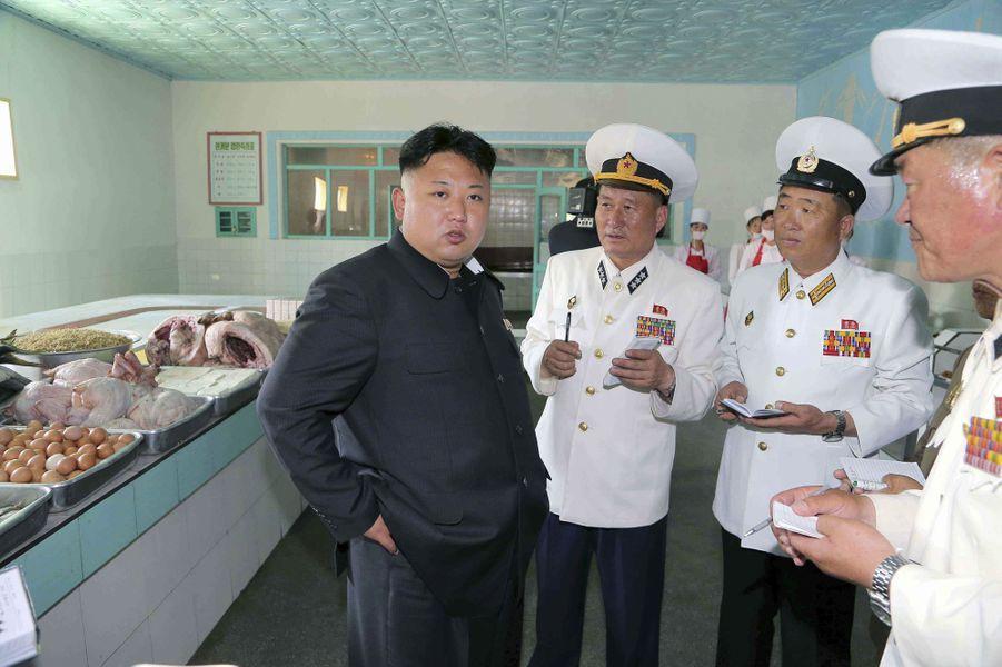 Kim Jong-un, capitaine de sous-marin
