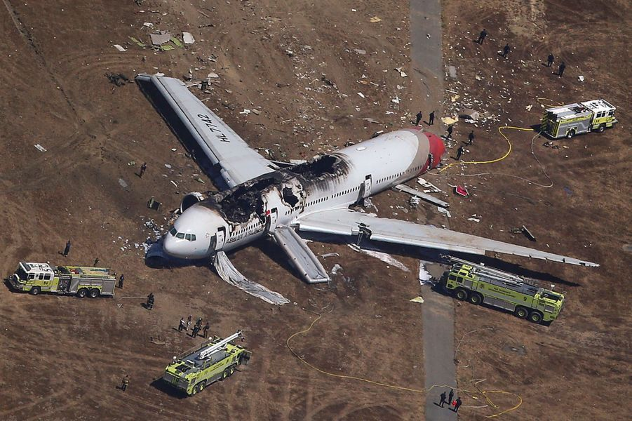 Crash d'un Boeing à San Francisco, deux morts