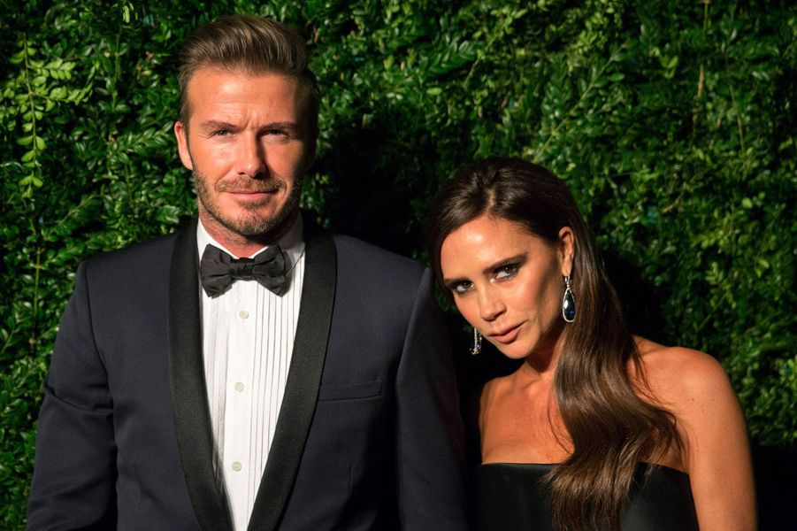 David et Victoria Beckham en 2014