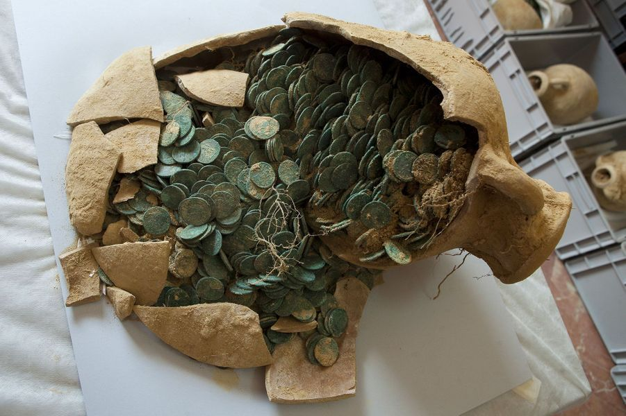 Des ouvriers découvrent un trésor de plusieurs millions d'euros