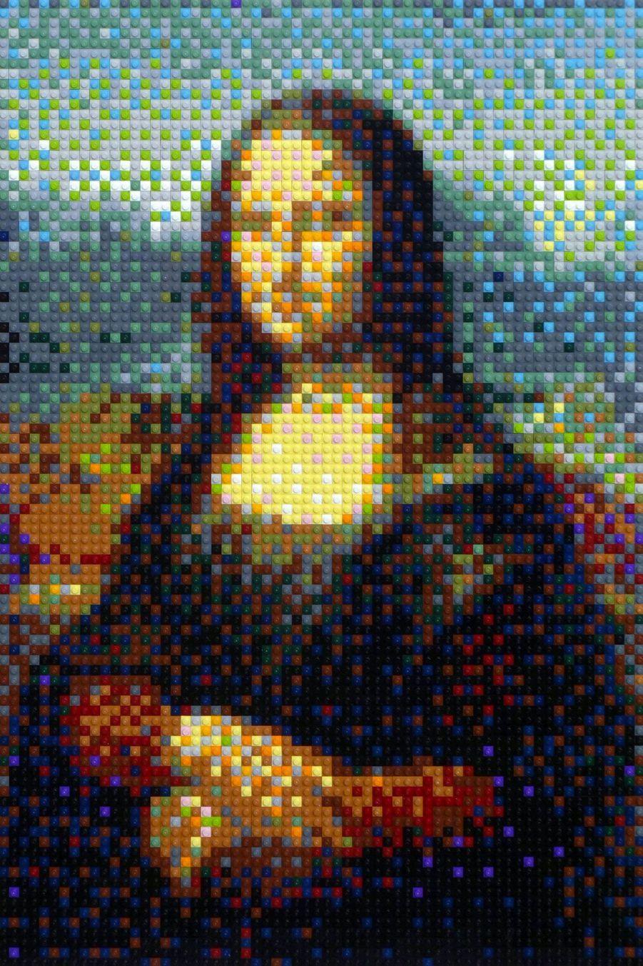 Des tableaux de maitres reproduits en Lego