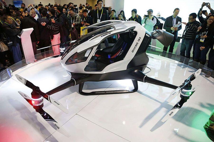 Le drone habitable EHang 184 peut aller jusqu'à 100 km/h