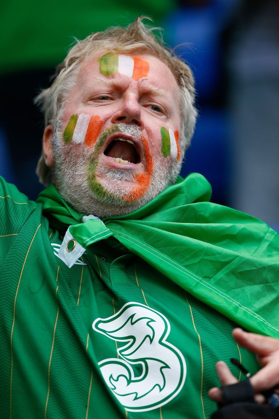 Euro 2016: France-Irlande, le match des supporters