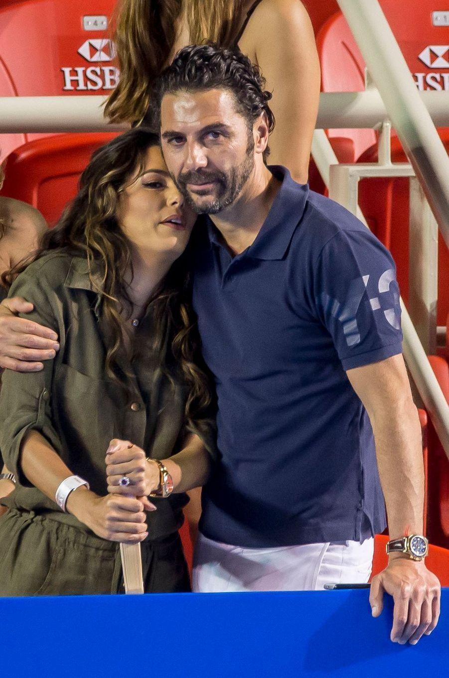 Eva Longoria et Jose Antonio Baston, le 26 février 2016