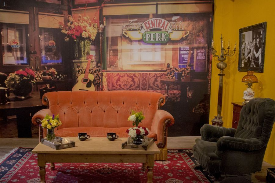 """Le Central Perk de """"Friends"""" a ouvert pour un mois à New York"""