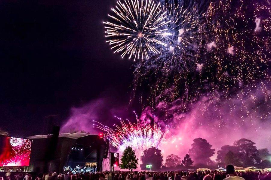 Somerset, Grande Bretagne : Glastonbury du 21 au 25 juin 2017.