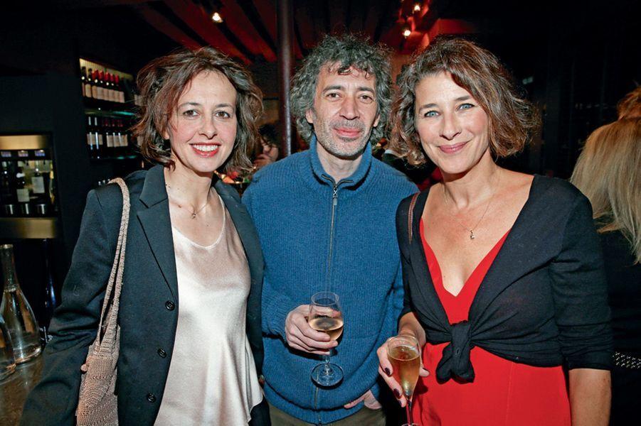 Valérie Bonneton, Eric Elmosnino, Isabelle Gélinas.