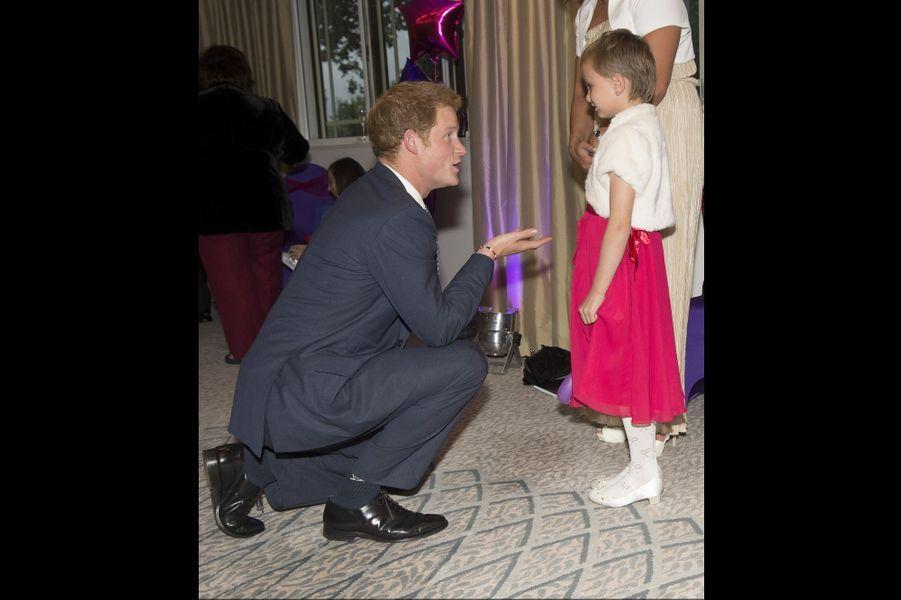 """Madison, 6 ans, lui a demandé: """"Ça fait quoi d'être prince?"""""""