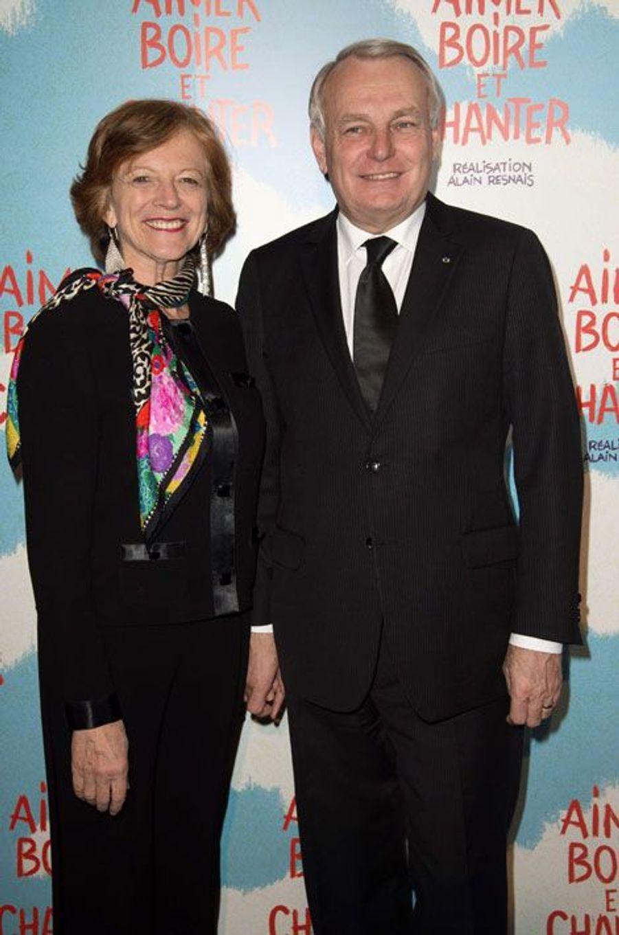 Jean Marc Ayrault et son épouse Brigitte