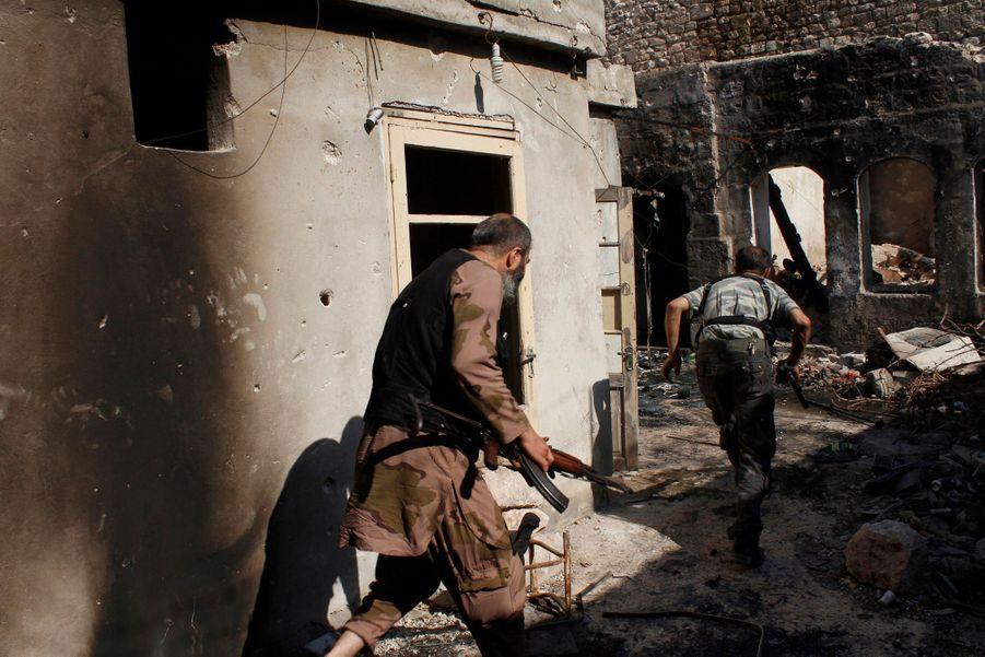 A Alep, dans le quartier de Qastal al-Harami