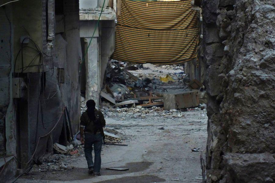 Homs et Alep, champs de ruines