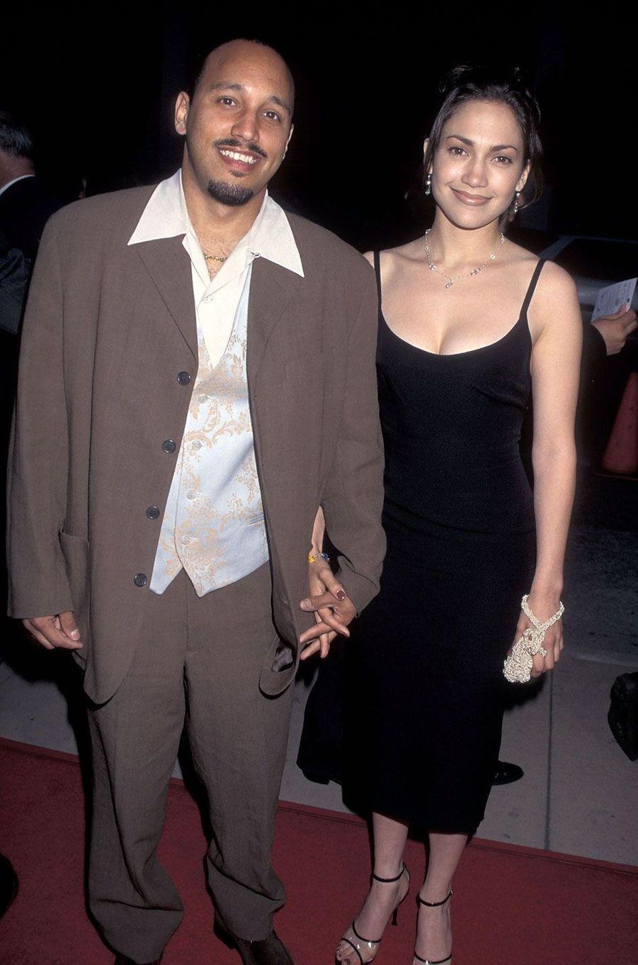 Jennifer Lopez et David Cruz en 1995