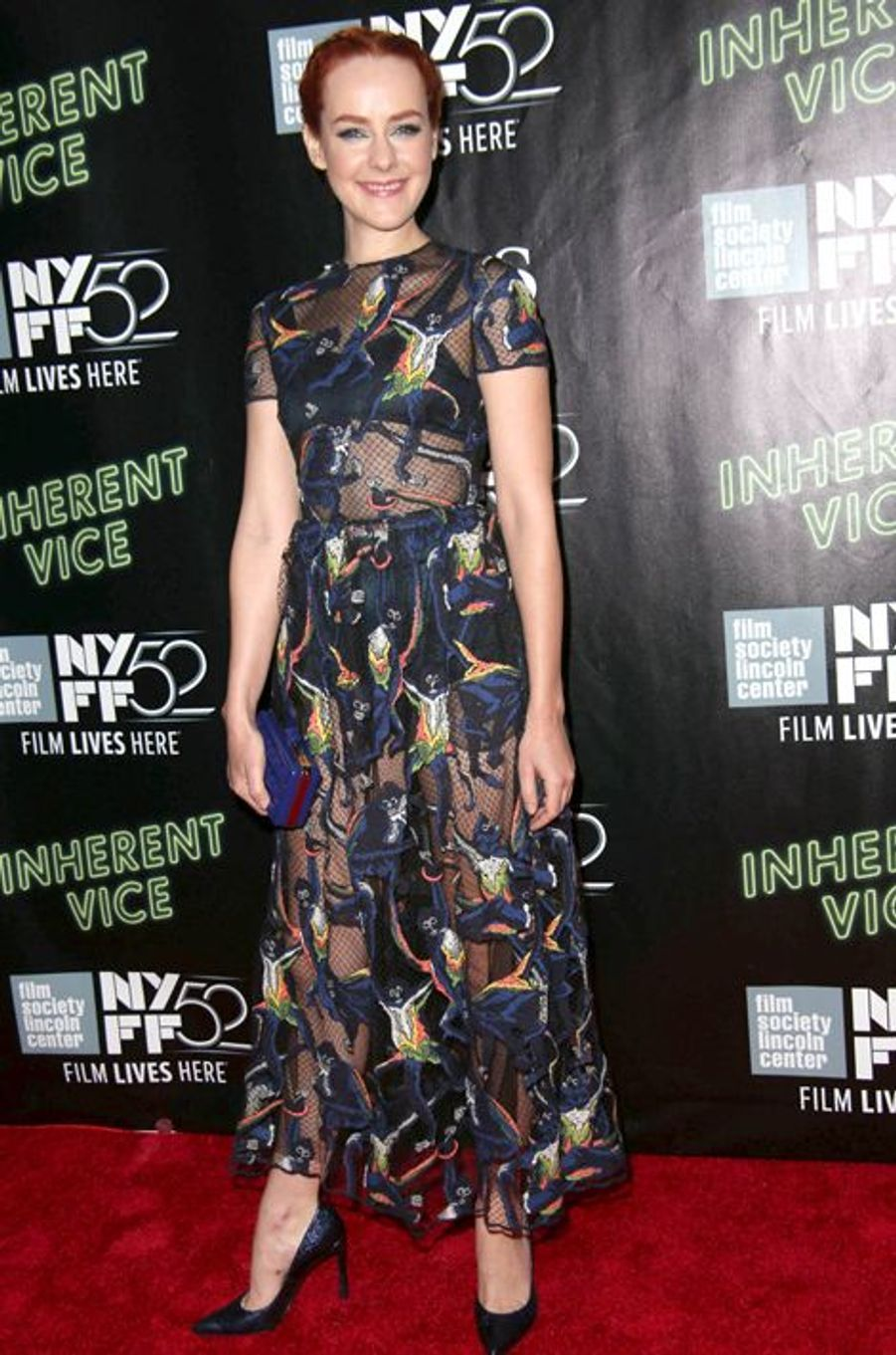 "Jena Malone à la projection de ""Inherent Vice"" à New York"