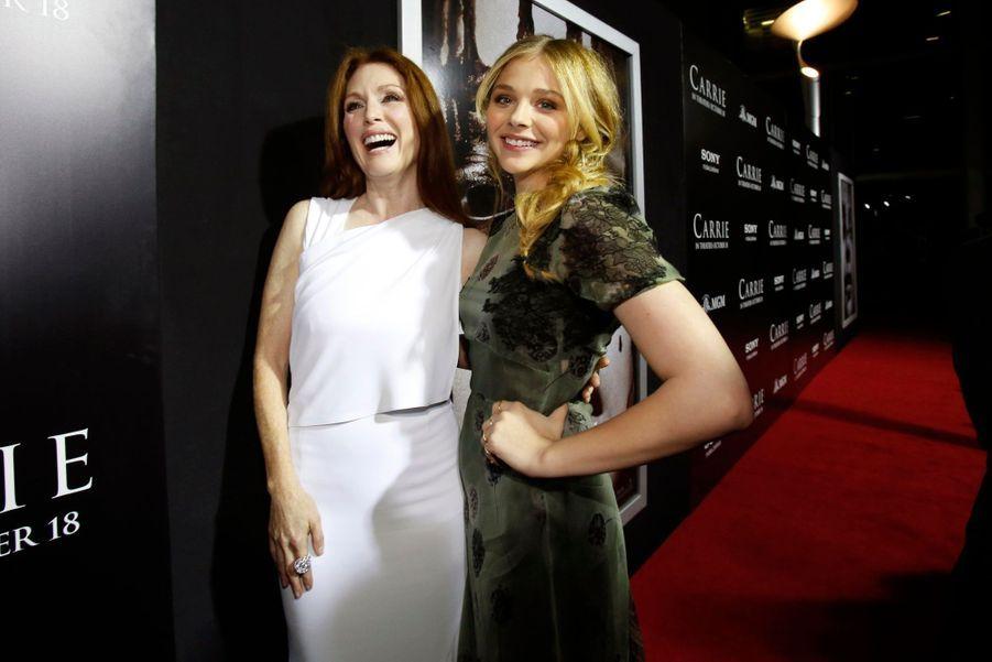 """Duo de charme pour la première de """"Carrie"""""""
