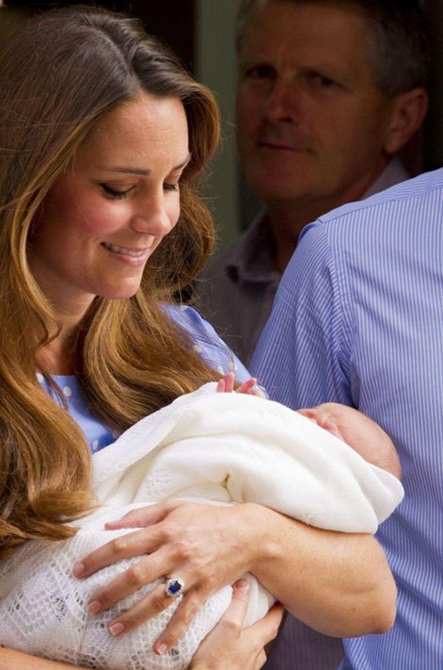 Le 23 juillet 2013 à l'hôpital St Mary, Londres, Royaume-Uni.