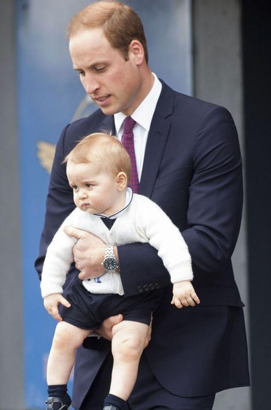 Baby George vole encore la vedette