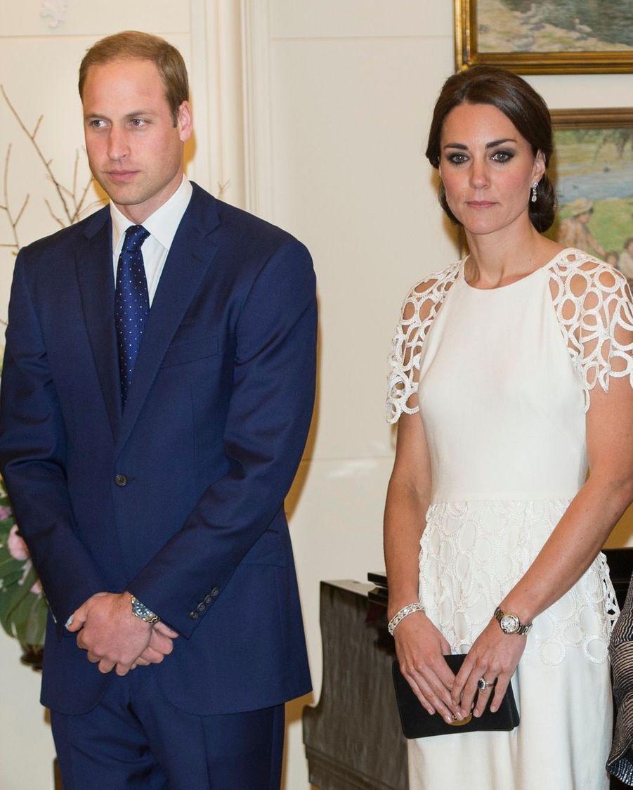 Kate, très élégante pour sa dernière soirée en Australie