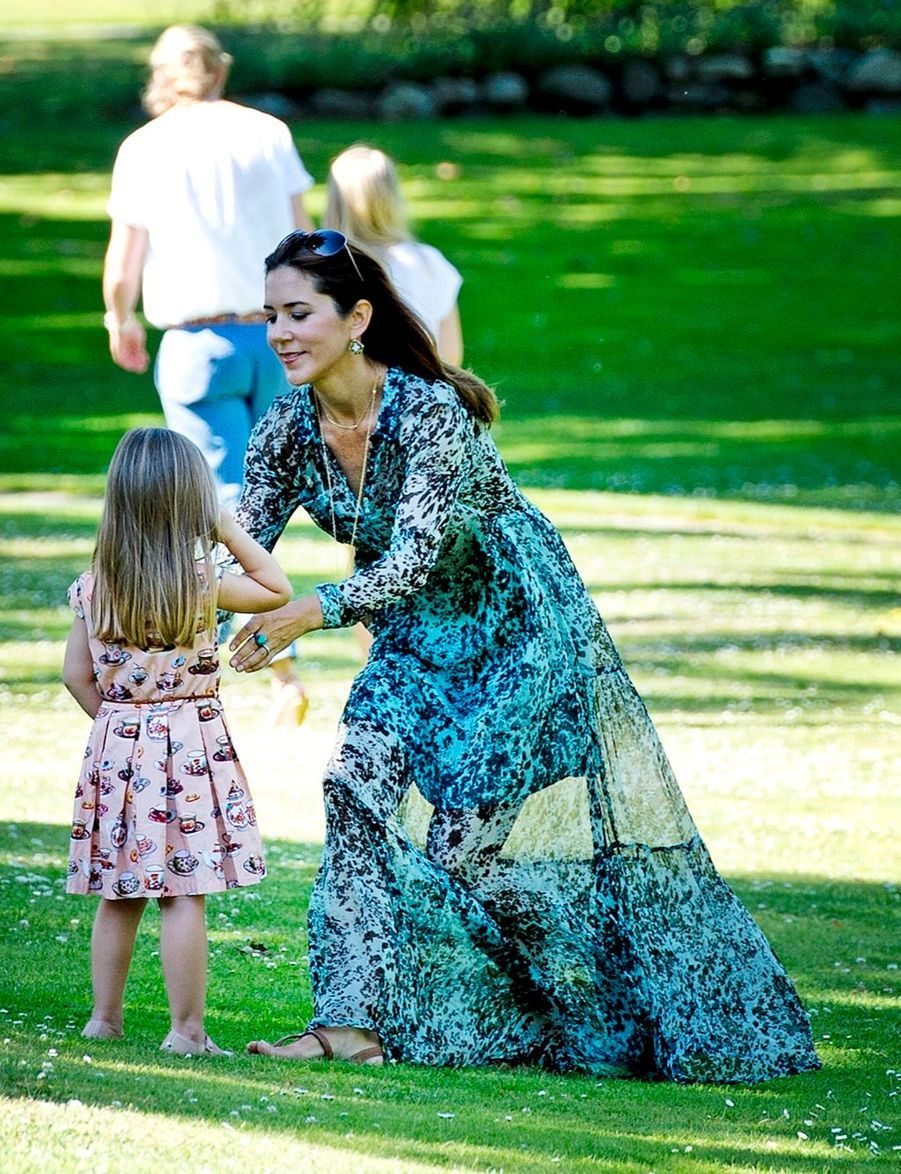Danemark, une photo de famille royale pour l'été