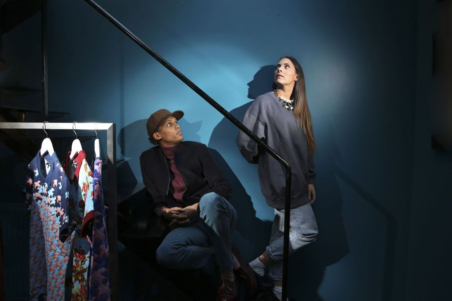 Stromae et sa femme Coralie Barbier.