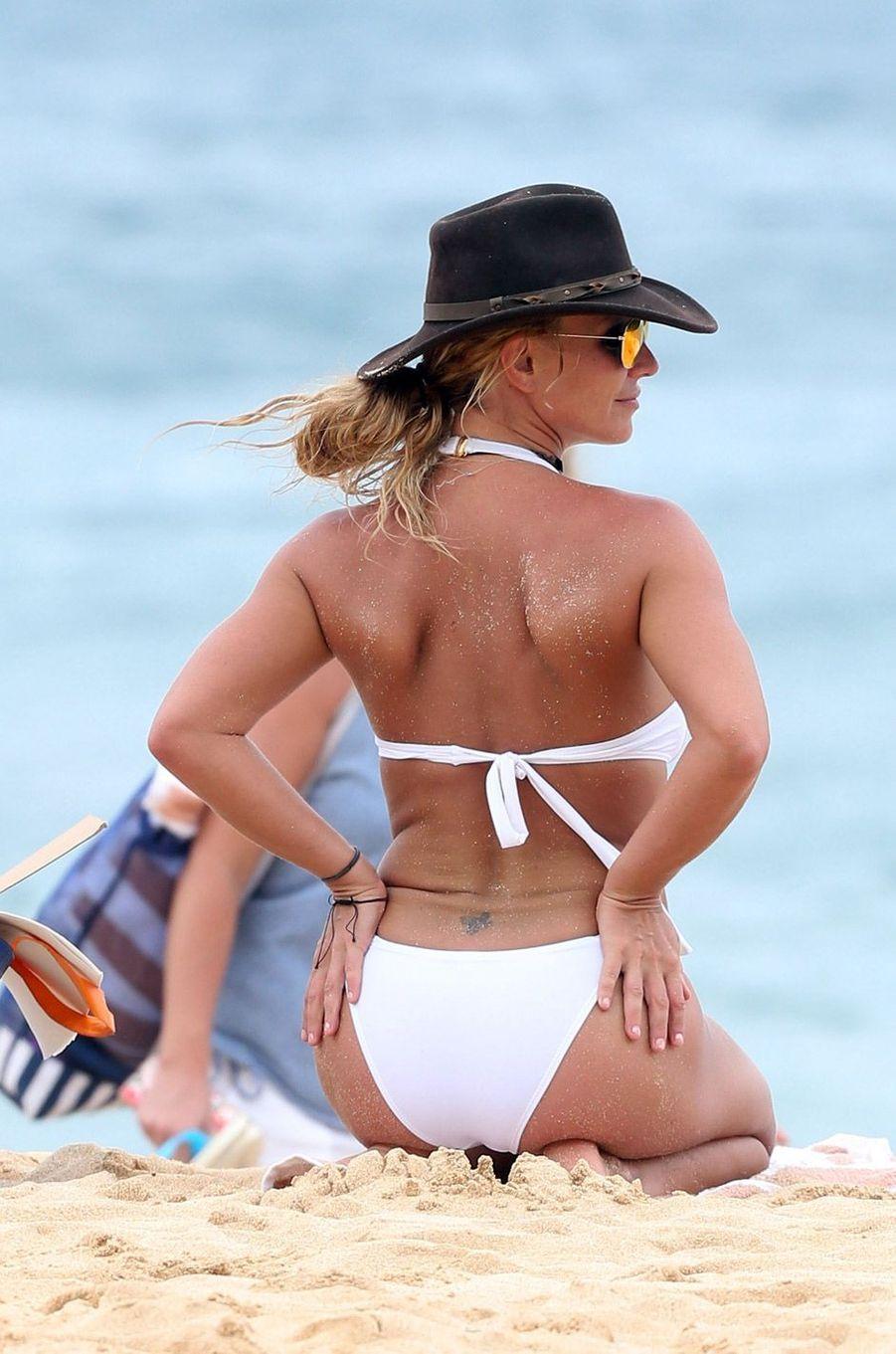 Britney avec ses enfants à Hawaii