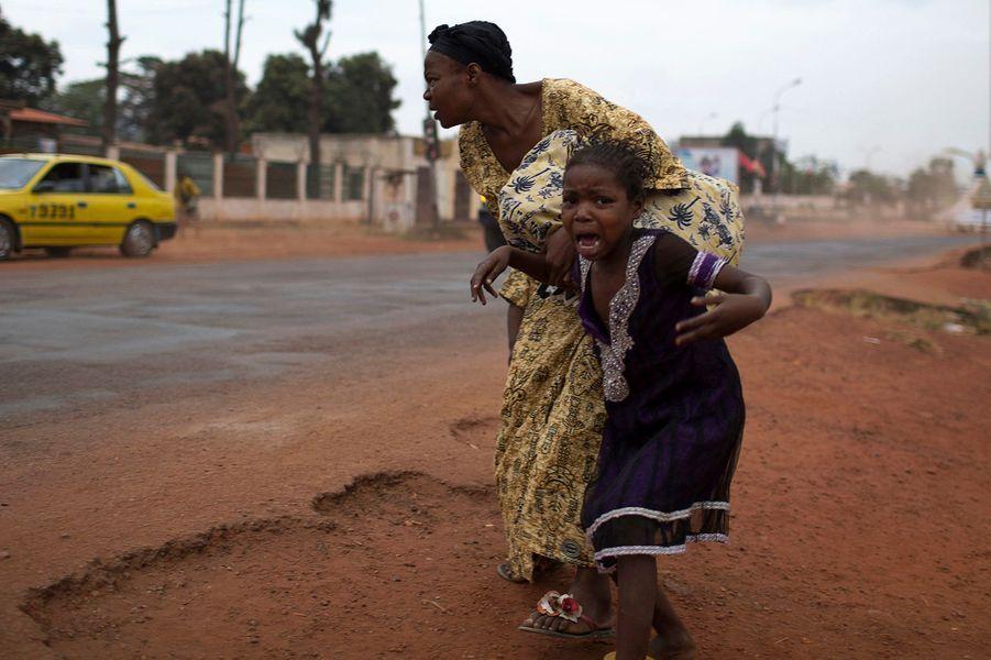 La terreur règne dans les rues de Bangui