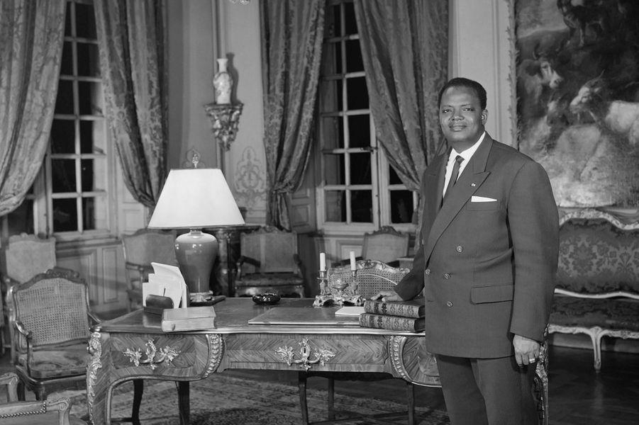 Coutougou Hubert Maga,1er président de la république de Dahomey de 1960 à 1963 et président du conseil de 1970 à 1972