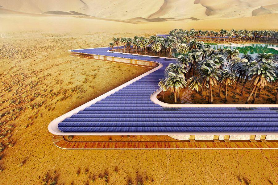 L'Oasis Eco Resort, conçu par Baharash Architecture.