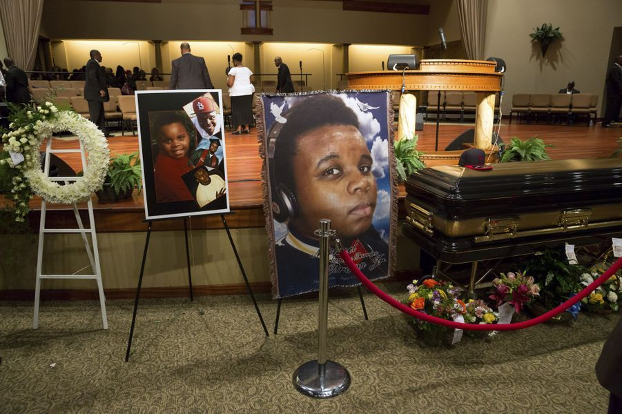 Les obsèques de Michael Brown ont eu lieu lundi