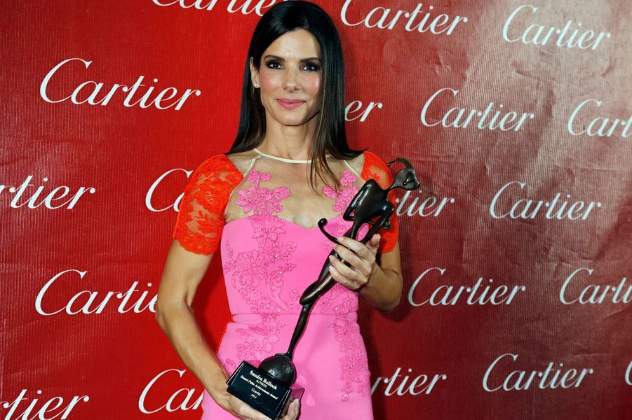Sandra Bullock et son Desert Palm Achievement Award