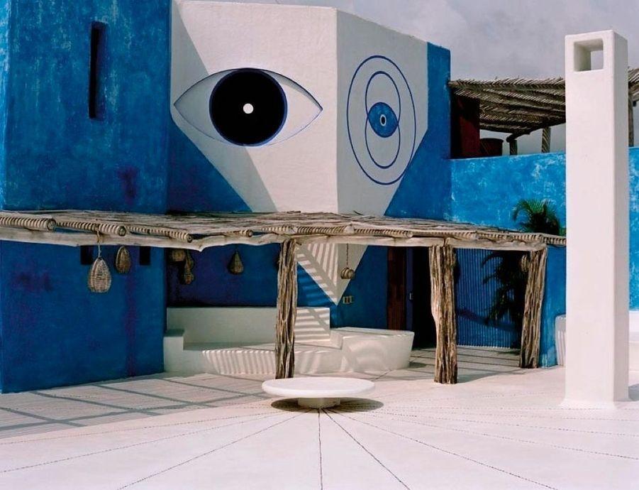 La villa Mi Ojo et les yeux du visionnaire, résidence de Gian Franco Brignone.