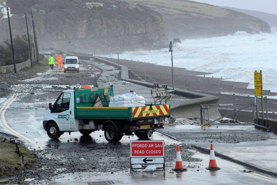 Le Royaume-Uni sous les eaux