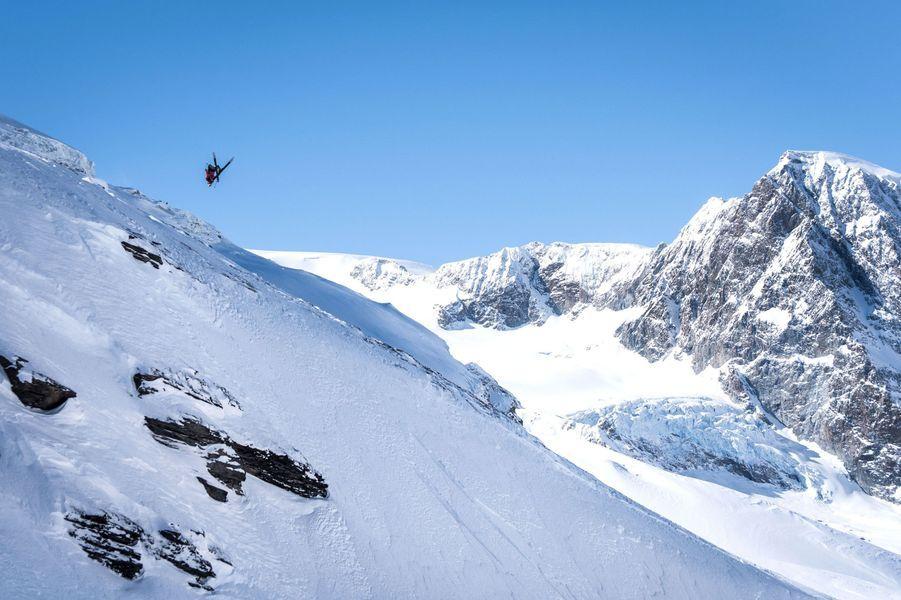 Sur la montagne du Cervin, en Suisse.