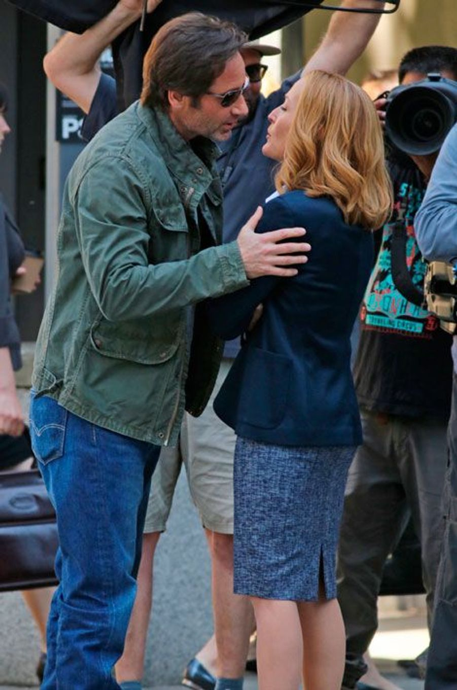 """Le tournage de la série """"X-Files"""" a commencé"""