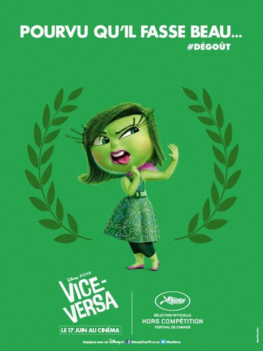 """Les affiches cannoises de """"Vice-Versa"""""""