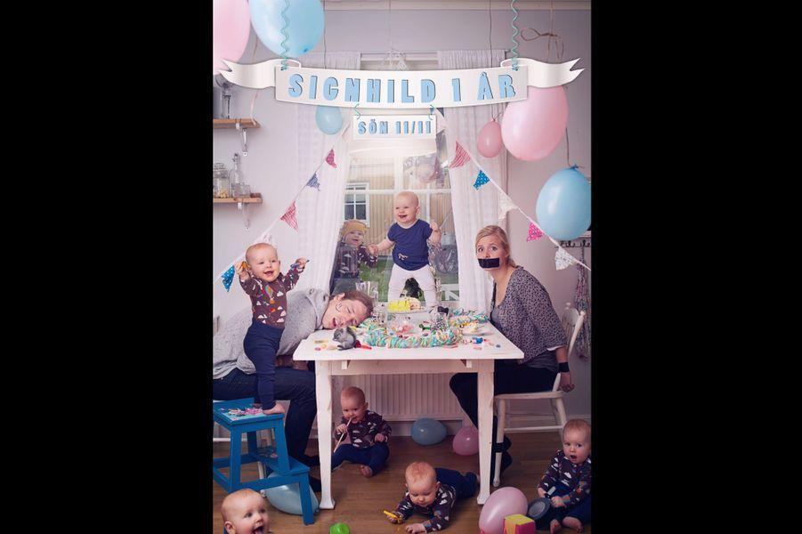 Les bébés en folie d'Emil Nyström