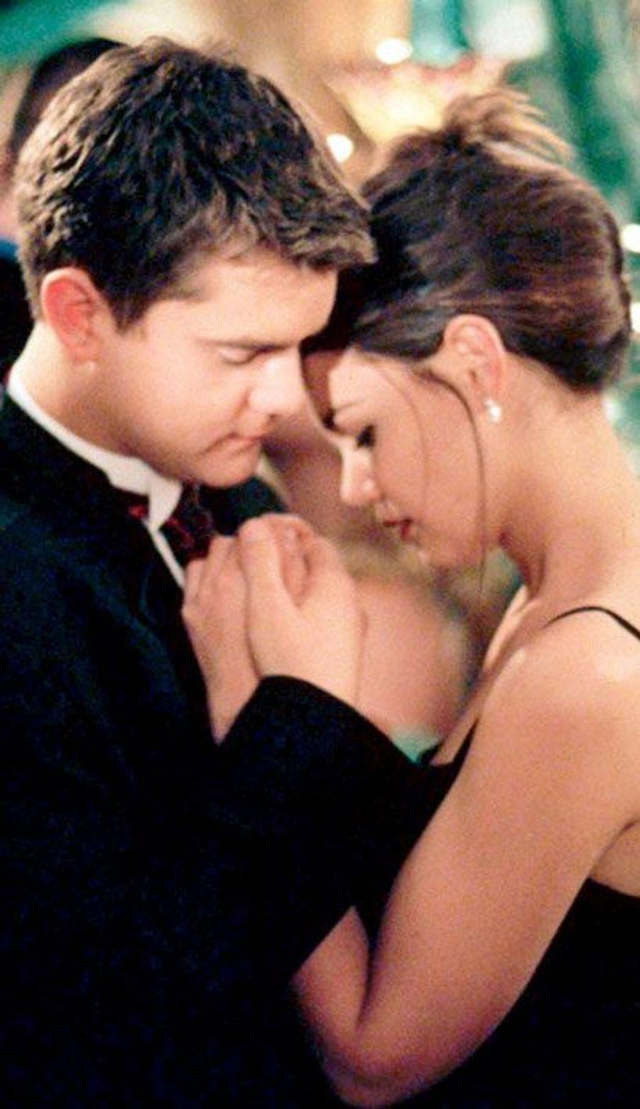 "Joey et Pacey de ""Dawson"" (Katie Holmes et Joshua Jackson)"