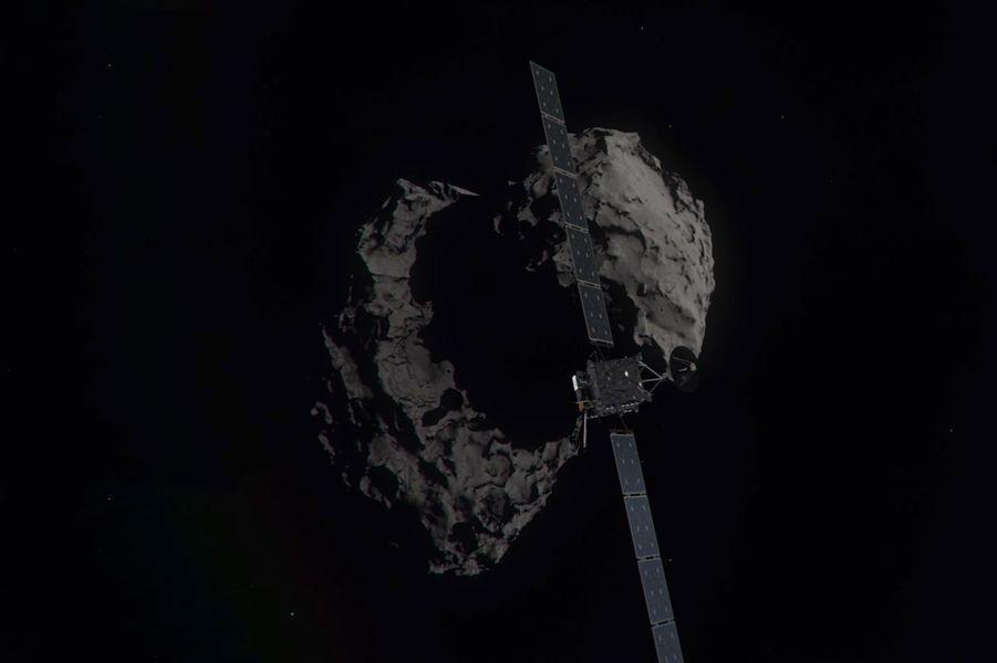 La sonde Rosetta s'apprête à descendre sur Tchouri