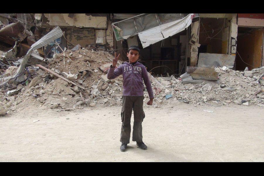 Les enfants de Yarmouk