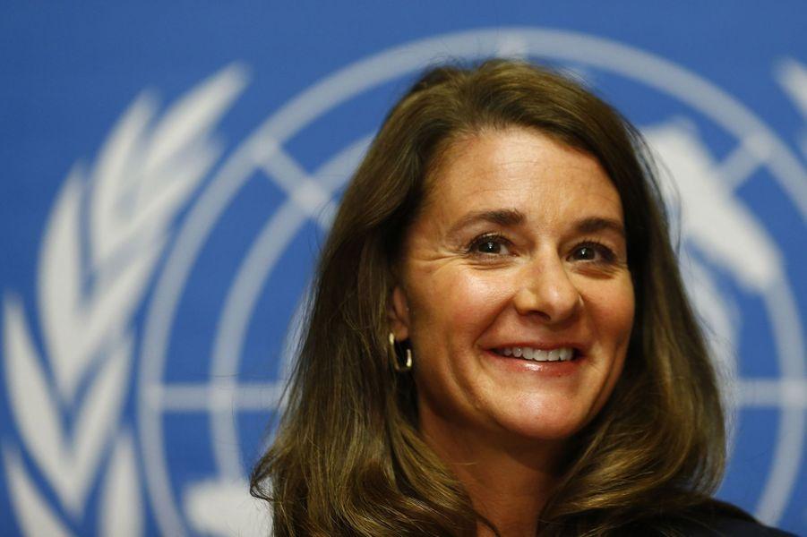 La philanthrope américaine Melinda Gates