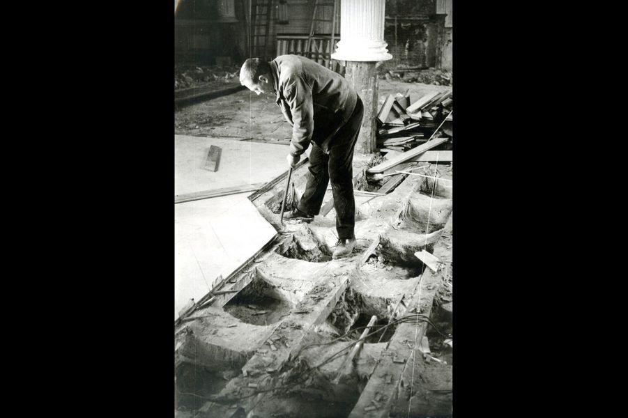 Les grands travaux du Grand Trianon