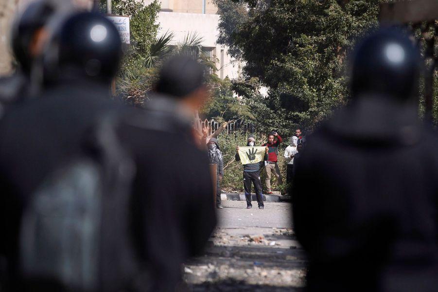 Les partisans des Frères musulmans dans la rue