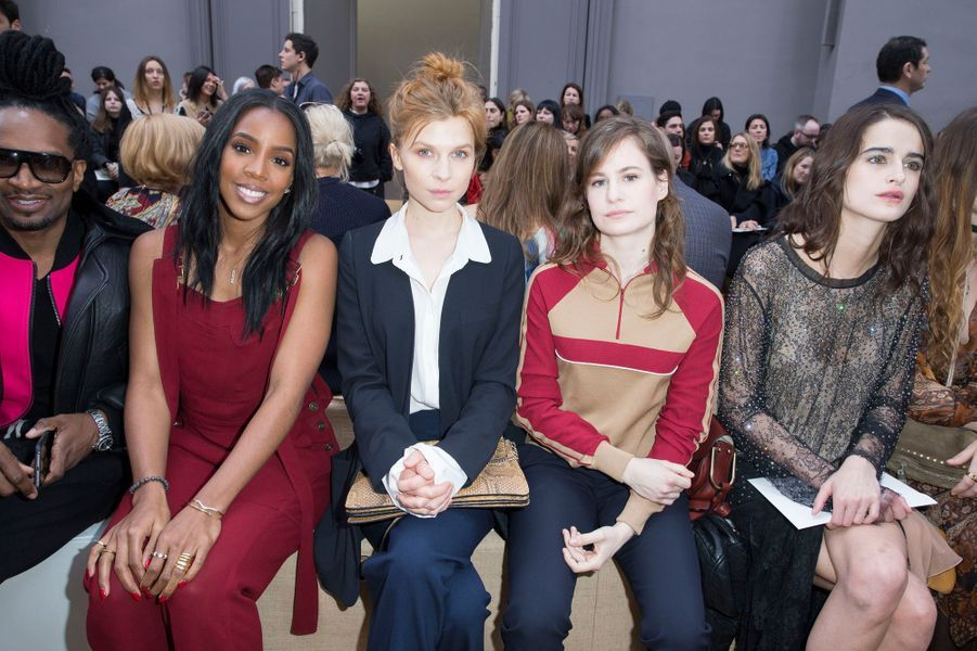Kelly Rowland, Clémence Poésy et Héloïse Letissier (Christine and the Queens)