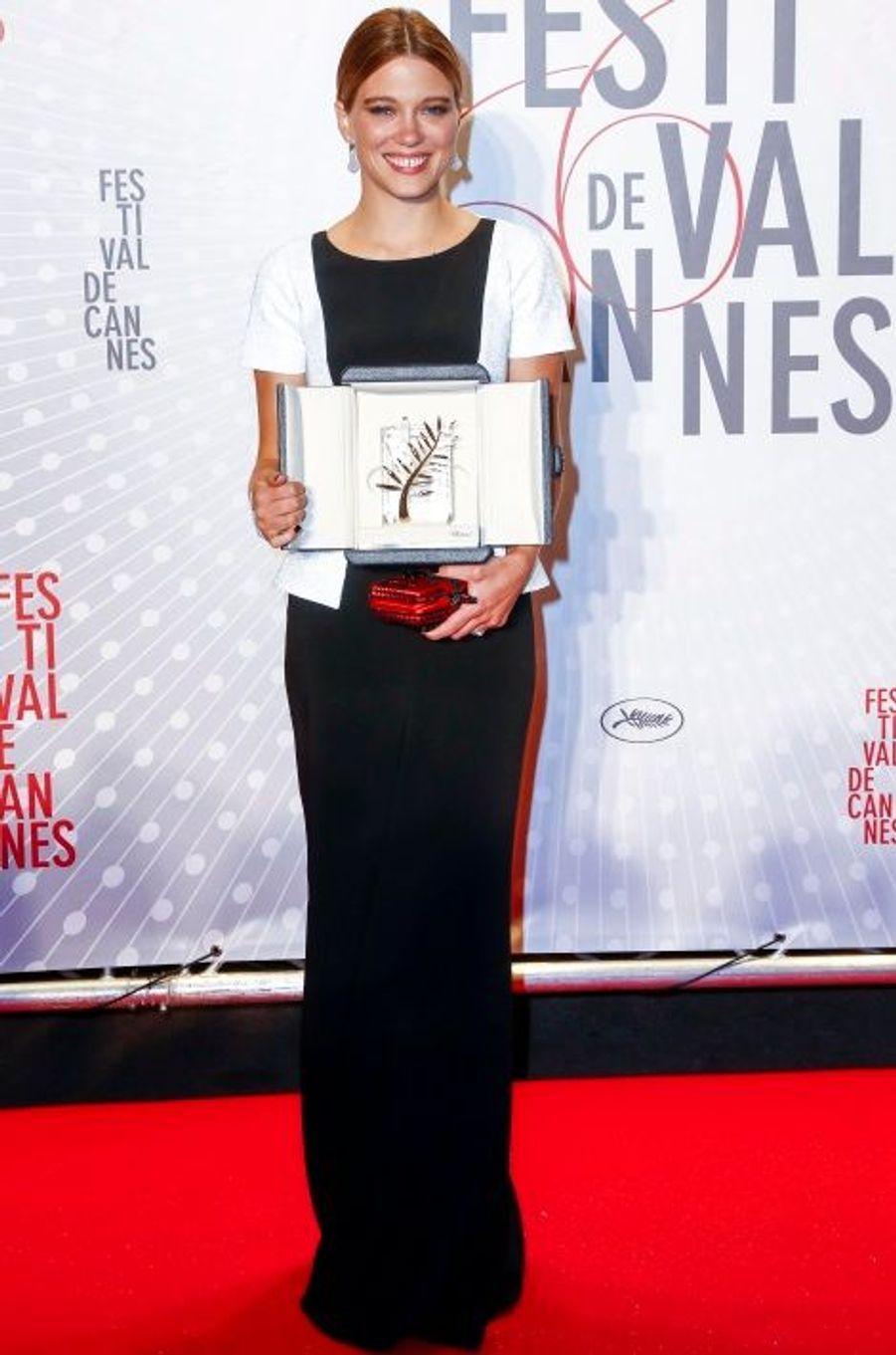 Avec sa Palme d'Or, à Cannes
