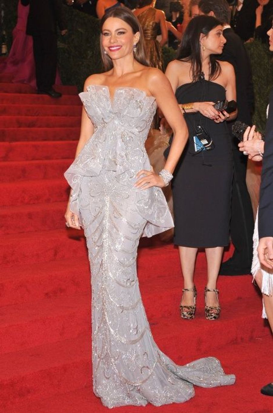 Au Gala du Met (en 2012)