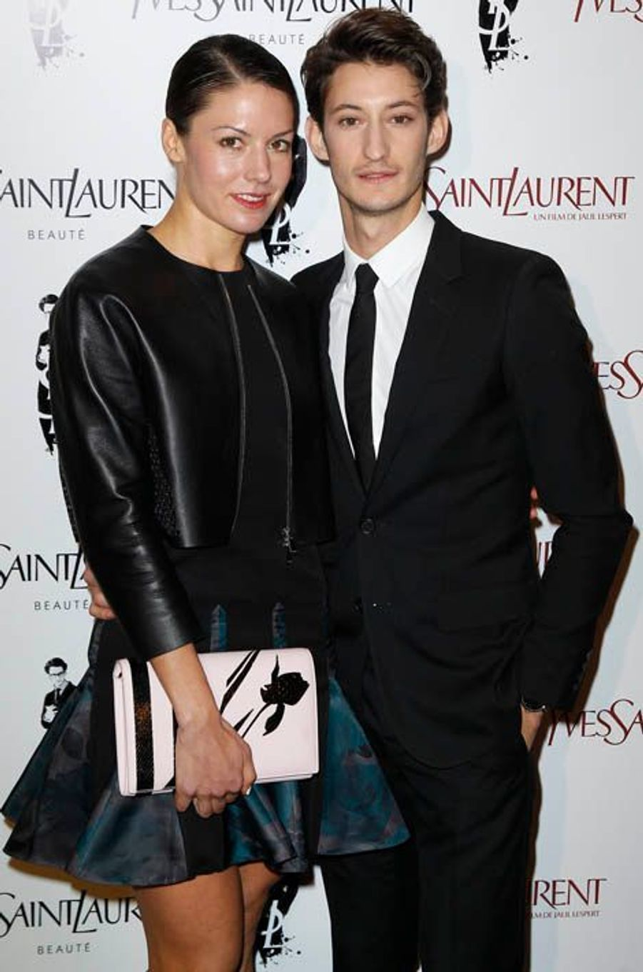 Pierre Niney et sa compagne