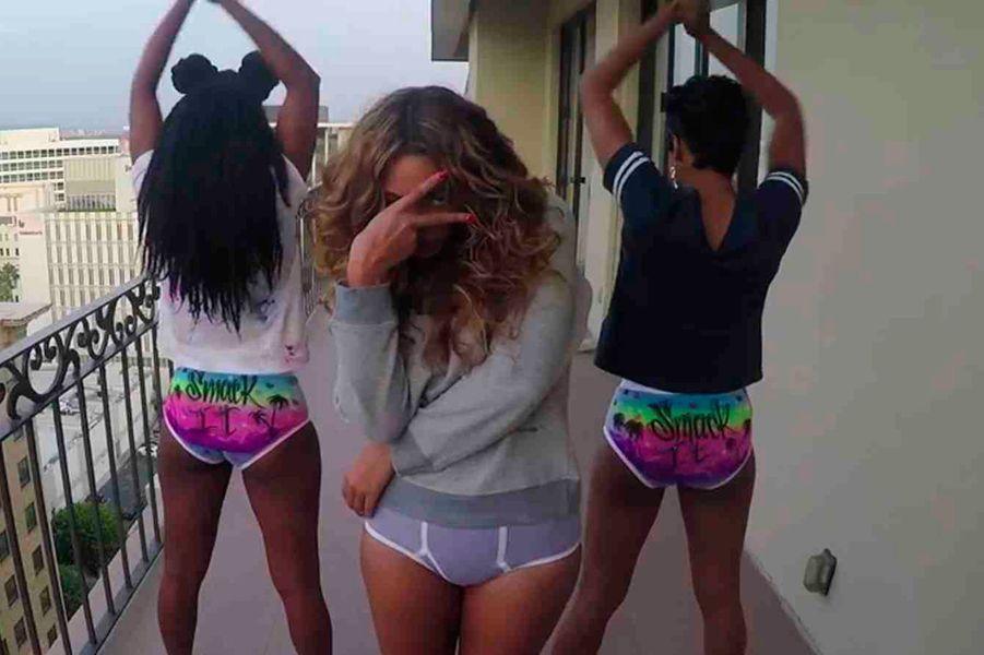 """Le """"clip maison"""" de Beyoncé"""