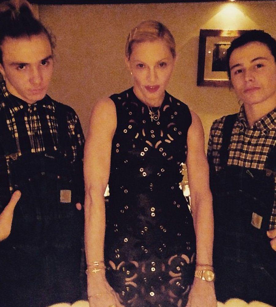 Madonna, toujours aussi musclée