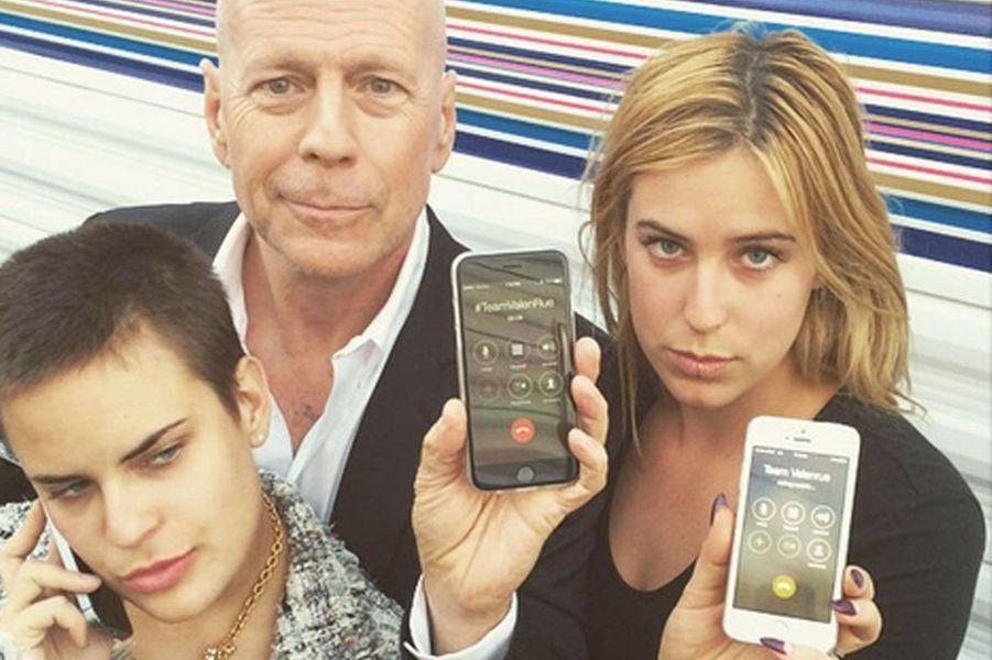 Bruce Willis en famille